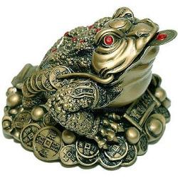 Фен-шуй: трехлапая жаба богатства