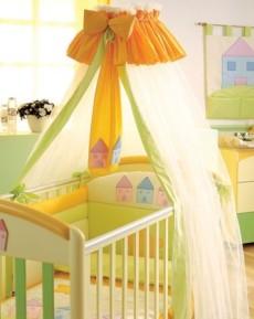 Как сшить балдахин для детской кроватки своими руками