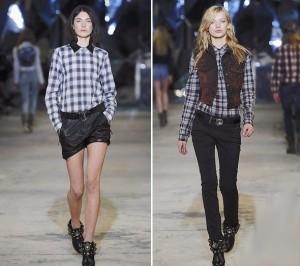 Модные женские рубашки 2014 - изящные и женственные