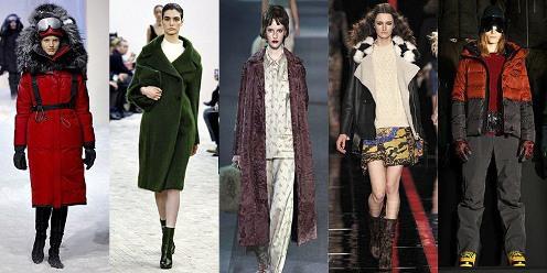 Женская верхняя одежда осень – зима 2013 - 2014