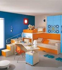 Интерьер комнаты для детей разного возраста