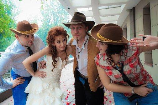 Оригинальный подход: свадьба в стиле вестерн