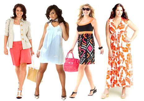 Как одеваться полным девушкам и женщинам?