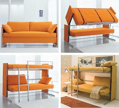 Мебель – трансформер – функциональное решение для маленькой квартиры