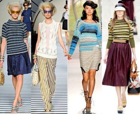Модный женский трикотаж 2014