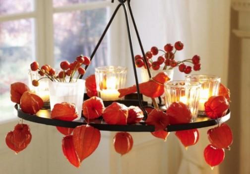 Украшаем интерьер свечами