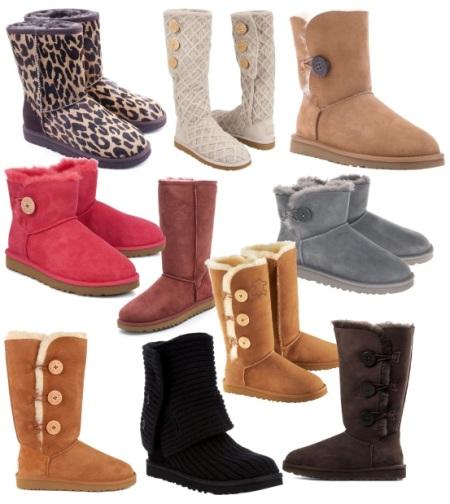 Модные угги. Актуальный атрибут зимы 2013 - 2014
