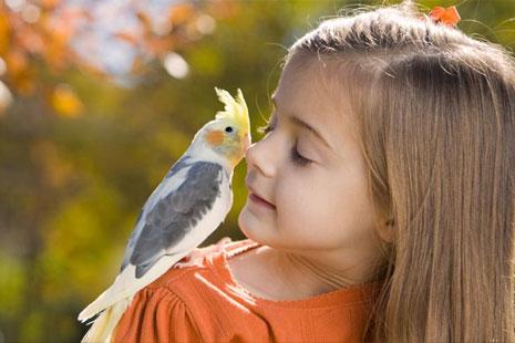 Живой друг для ребенка