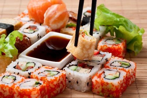 Польза суши при похудении