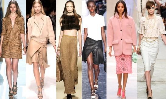 Модные тенденции новой весны 2014