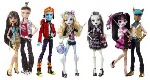 Неповторимые и уникальные куклы монстры - хороший подарок для вашей девочки
