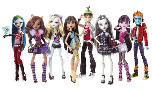 Непревзойденные и неповторимые куклы Монстр Хай - игры и игрушки