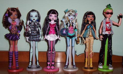 Куклы Monster High – веселые и харизматичные игрушки